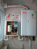 Instalação de aquecedor rinnai