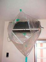 Orçamento de limpeza de ar condicionado